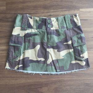 Dresses & Skirts - Cami Cargo Denim Mini Skirt